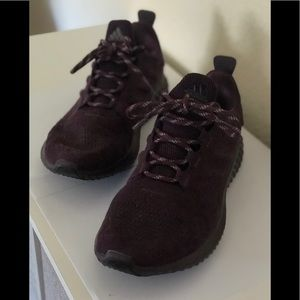 Adidas Bounce Dark Purple Suede Sneakers